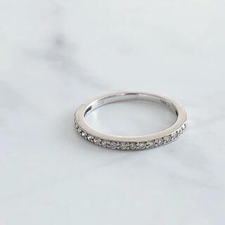 JEWELRY TSUTSUMI - 美品 ジュエリーショップ購入 ダイヤモンド エタニティリング