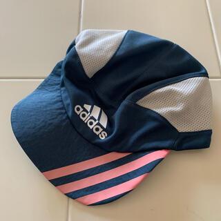 アディダス(adidas)のサッカー用キャップ キッズ サイズ54〜57(帽子)