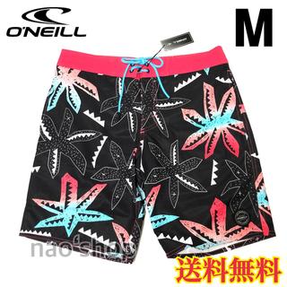 オニール(O'NEILL)の【新品】オニール  メンズ ボードショーツ 柄 ブラック 30(水着)