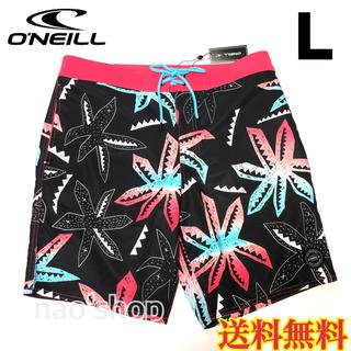 オニール(O'NEILL)の【新品】オニール  メンズ ボードショーツ 柄 ブラック 32(水着)