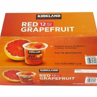 コストコ(コストコ)の着払いクール便レッドグレープフルーツ 12カップ×2セット(フルーツ)