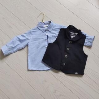 ブリーズ(BREEZE)のシャツ・ベストセット fagottino OVS シャツ tksapkid(セレモニードレス/スーツ)