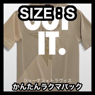 ナイキ(NIKE)のジョーダン x トラヴィス スコット メンズ ショートスリーブ トップ Sサイズ(Tシャツ/カットソー(半袖/袖なし))