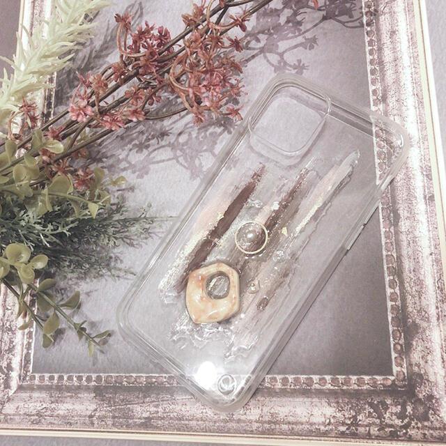 """ZARA(ザラ)の【""""O""""case.】ニュアンスデザイン iPhoneケース m-5【11Pro】 スマホ/家電/カメラのスマホアクセサリー(iPhoneケース)の商品写真"""