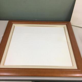 木製額縁 額 木製 木枠 額サイズ高さ約61cm 幅約68.3cm(絵画額縁)