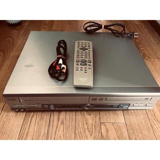 シャープ(SHARP)のSHARP DV-NC550  VHS DVDデッキ(DVDプレーヤー)