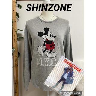シンゾーン(Shinzone)のミラーオブシンゾーン SHINZONE  ミッキーマウス スウェット(トレーナー/スウェット)
