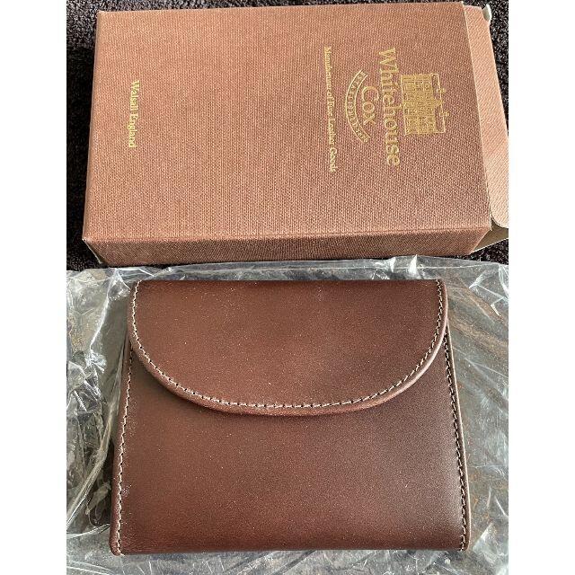 WHITEHOUSE COX(ホワイトハウスコックス)のWhitehouse Cox 三つ折りスモール S1058 メンズのファッション小物(折り財布)の商品写真