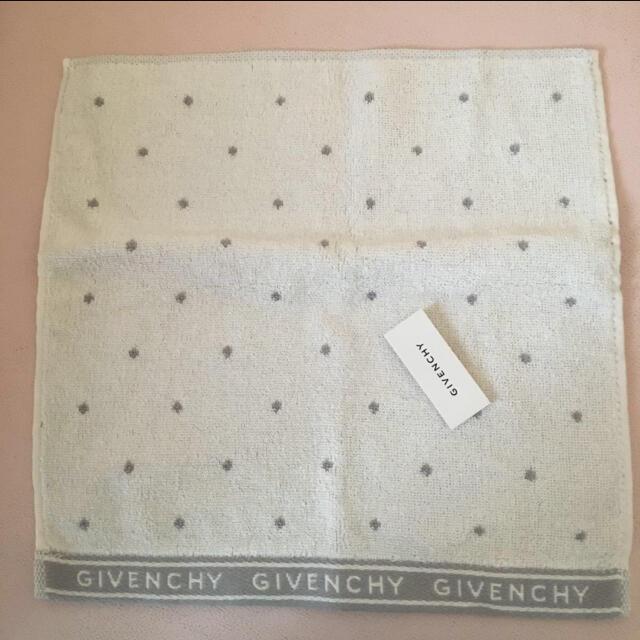 GIVENCHY(ジバンシィ)の新品☆ジバンシィ タオルハンカチ3枚 レディースのファッション小物(ハンカチ)の商品写真
