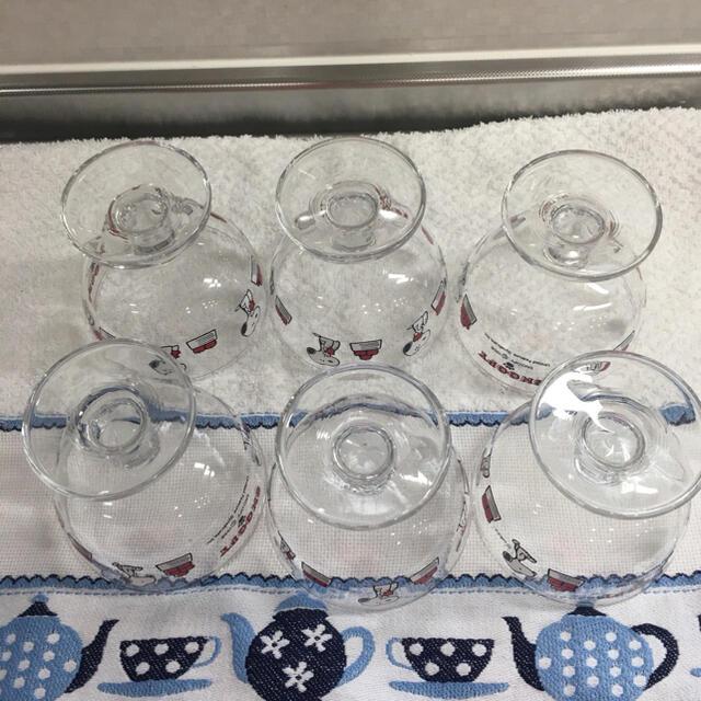 東洋佐々木ガラス(トウヨウササキガラス)の佐々木ガラス スヌーピー マイキューティー デザートグラス インテリア/住まい/日用品のキッチン/食器(グラス/カップ)の商品写真