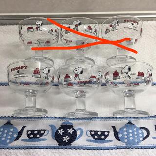 トウヨウササキガラス(東洋佐々木ガラス)の佐々木ガラス スヌーピー マイキューティー デザートグラス(グラス/カップ)