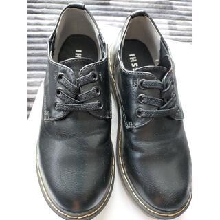 シマムラ(しまむら)の子ども黒靴19cm(フォーマルシューズ)