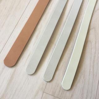 未完成ベルト帯 ベージュ、ライトグレー、オフホワイト(各種パーツ)