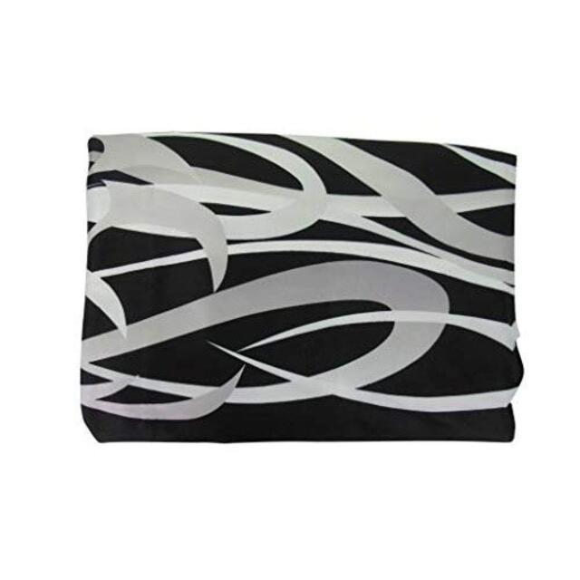 【新品】ソファー ベッド ブラック トライバル柄 幅128×長さ220cm インテリア/住まい/日用品のソファ/ソファベッド(ソファカバー)の商品写真