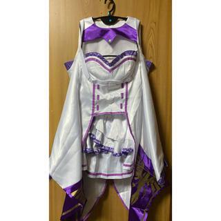 Re:ゼロから始める異世界生活 エミリア リゼロコスプレ衣装(衣装一式)