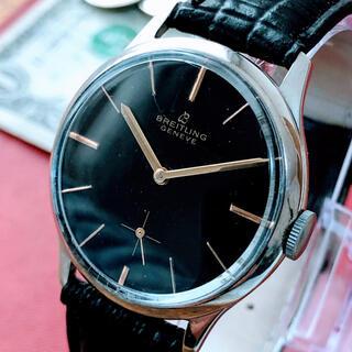 ブライトリング(BREITLING)の#1379【お洒落なブラック】メンズ 腕時計 ブライトリング 動作良好 (腕時計(アナログ))