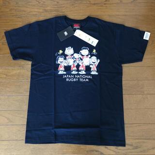 CANTERBURY カンタベリー 半袖Tシャツ ラグビー日本代表 スヌーピー
