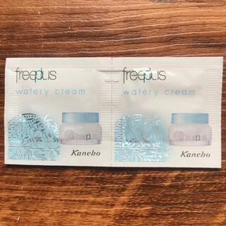 フリープラス(freeplus)のフリーブラス ウォータリークリーム2点セット(サンプル/トライアルキット)