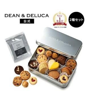 ディーンアンドデルーカ(DEAN & DELUCA)のDEAN & DELUCAアメリカンクッキー缶  コーヒーギフト セット(菓子/デザート)