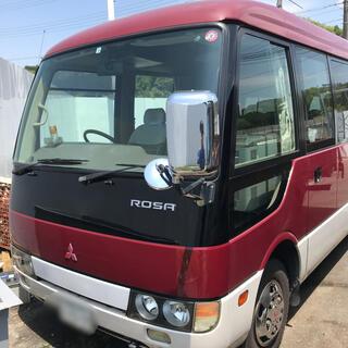 三菱 - 三菱ふそう ローザ マイクロバス BE66DG ターボ 29人乗り 車検付き