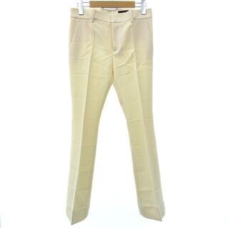 グッチ(Gucci)のグッチ 新品同様 パンツ スラックス ブーツカット 国内正規 無地 ウール 36(その他)
