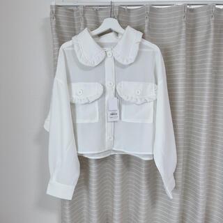 メリージェニー(merry jenny)の新品 merry jenny fuwaカラールーズジャケット(テーラードジャケット)