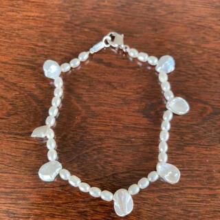 タサキ(TASAKI)の美品 ブレスレット パール 淡水真珠(ブレスレット/バングル)