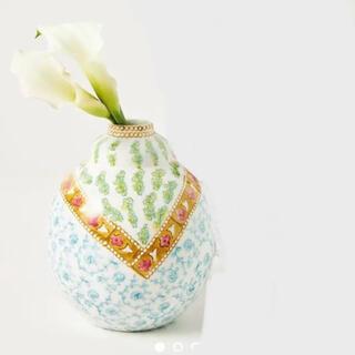 アンソロポロジー(Anthropologie)のアンソロポロジー コートニー 花瓶(花瓶)
