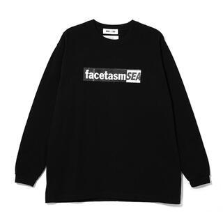 ファセッタズム(FACETASM)のFACETASM x WDS L/S TEE / Black (FACE-02)(Tシャツ/カットソー(半袖/袖なし))