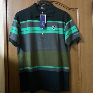 パーリーゲイツ(PEARLY GATES)の新品PEARLY GATESのボーダー柄ポロシャツサイズ4(ポロシャツ)
