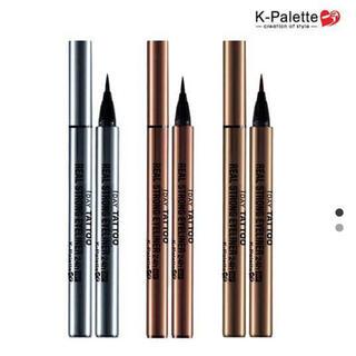 K-Palette - 1DAY TATTOO K-パレット  リアルストロングアイライナー24hWP