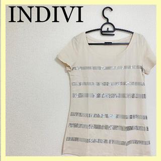 インディヴィ(INDIVI)のINDIVI インディヴィ トップス 半袖(カットソー(半袖/袖なし))
