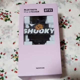 BT21 SHOOKY SUGA ワイヤレスマイクスピーカー Bluetooth(スピーカー)