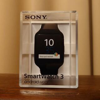 ソニー(SONY)のソニー SmartWatch3 SWR50 新品・未開封(腕時計(デジタル))