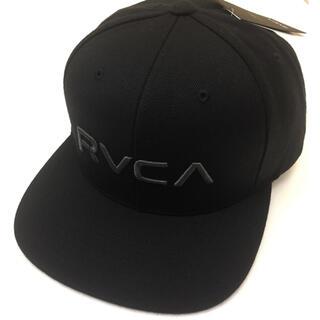 ルーカ(RVCA)のRVCA ルーカ ロゴキャップ ブラック 新品未使用 ベースボールキャップ(キャップ)