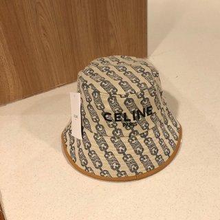セリーヌ(celine)の最新ファッションの男性と女性の漁師の帽子(キャップ)
