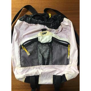 ナイキ(NIKE)のGAP ギャップ ポケット多め 背面防水ポケット付 ジム プールバッグ シューズ(リュック/バックパック)