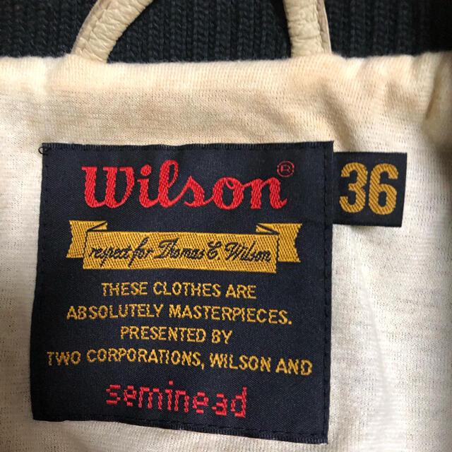wilson(ウィルソン)のレア ウィルソン ブルゾン ジャケット メンズレディース メンズのジャケット/アウター(ブルゾン)の商品写真