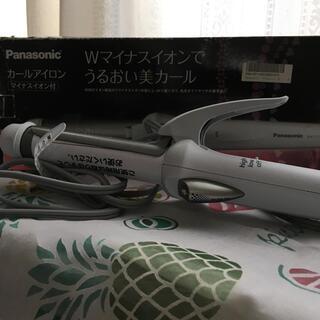 パナソニック(Panasonic)の未使用 送込 Panasonic カールアイロン Wマイナスイオン 26mm(ヘアアイロン)