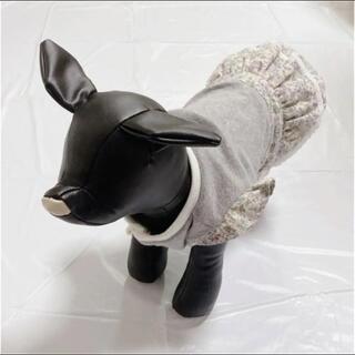 ミナペルホネン(mina perhonen)の犬服 花柄 ティアードワンピース(ペット服/アクセサリー)
