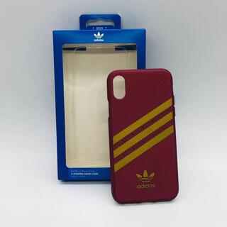 アディダス(adidas)のiPhone Ⅹ / ⅩS   adidas  アディダス レッド イエロー(iPhoneケース)