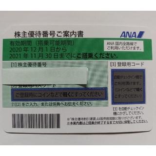 ANA 全日空 株主優待券 2021/11/30まで有効(その他)
