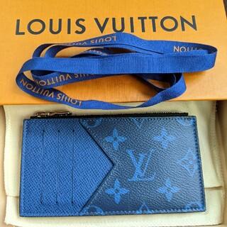 ルイヴィトン(LOUIS VUITTON)の【1回使用美品】LOUIS VUITTON コインケース カードケース(コインケース/小銭入れ)