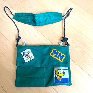 ディズニー(Disney)のショルダーバッグ サコッシュ ディズニー 子ども キッズ バッグ ポーチ 未使用(ポシェット)