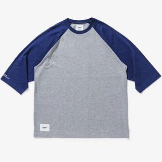 W)taps - WTAPS IAN RAGLAN COTTON XLサイズ BLUE  ラグラン