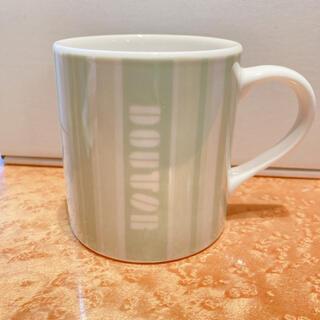 キーコーヒー(KEY COFFEE)のDOUTOR★ドトールコーヒー正規品★オリジナルデザイン★マグカップ★未使用美品(グラス/カップ)