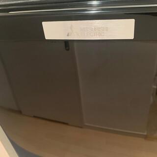ミツビシデンキ(三菱電機)の★美品★三菱ノンフロン冷蔵庫Black2017年製MR-P15C 146L(冷蔵庫)
