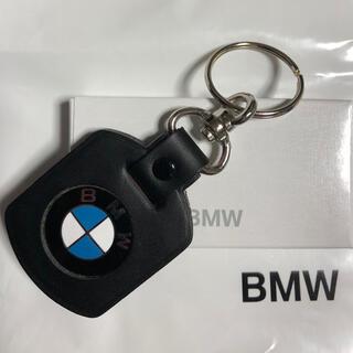 BMW - BMWブラックレザーキーホルダー(箱無し)
