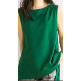 バンヤードストーム(BARNYARDSTORM)のバンヤードストーム スリットボタンプルオーバー 紺(Tシャツ(半袖/袖なし))