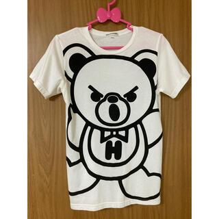 JOEY HYSTERIC - ファックベア ジョーイヒステリック L ホワイト Tシャツ 半袖